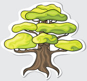 Árbol estilizado. Fotografía de archivo libre de regalías