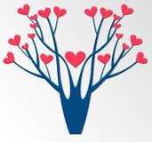 Árbol estilizado del vector Fotos de archivo