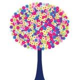 Árbol feliz Foto de archivo libre de regalías