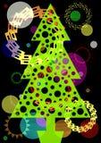 Árbol festivo Imágenes de archivo libres de regalías