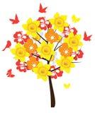 Árbol floral libre illustration