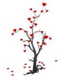 Árbol frutal del corazón Imagenes de archivo