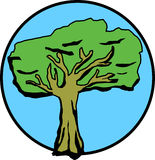 Árbol grande ilustración del vector