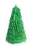 Árbol hecho a mano del Año Nuevo Fotografía de archivo libre de regalías