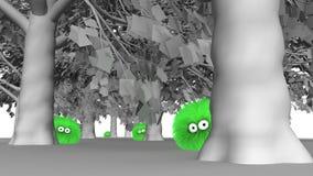 Árbol Hugger 3 de Furbul Imagen de archivo