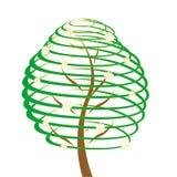 Árbol mágico stock de ilustración