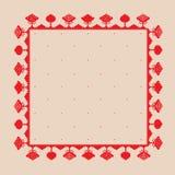 Árbol nacional del ornamento Imágenes de archivo libres de regalías