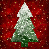 árbol nevoso Foto de archivo libre de regalías