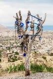 Árbol turco del mal de ojo Imagen de archivo libre de regalías