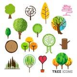 Árbol y Forest Icons