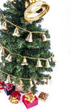 Árbol y regalos de Noel Imágenes de archivo libres de regalías
