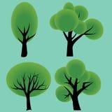 Árboles ilustración del vector