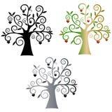 árboles Ilustração do Vetor