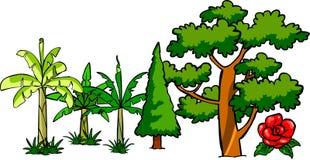 Árboles libre illustration