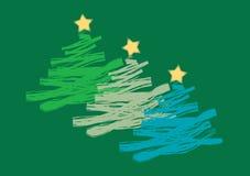 Árboles de navidad Foto de archivo