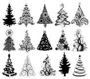 Árboles de navidad libre illustration