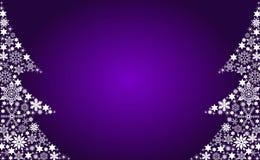Árboles de navidad abstractos Imagen de archivo libre de regalías