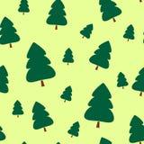 Árboles de navidad de papel Fotos de archivo libres de regalías