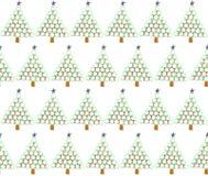 Árboles de navidad del caramelo Fotografía de archivo libre de regalías