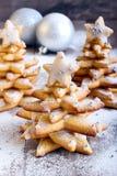 Árboles de navidad del pan de jengibre Fotos de archivo libres de regalías
