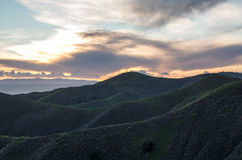 Árboles de nubes Fotos de archivo libres de regalías