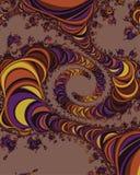 Árboles del fractal Imagen de archivo libre de regalías