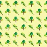 Árboles y modelo de las ramas Fotos de archivo