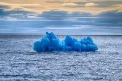 Área ártica Novaya Zemlya de la acción del hielo del iceberg Imagen de archivo
