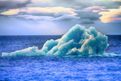 Área ártica Novaya Zemlya de la acción del hielo del iceberg Fotografía de archivo