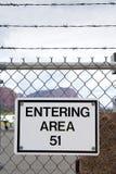 Área 51 Fotografía de archivo