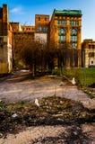 Área abandonada en Baltimore, Maryland Foto de archivo