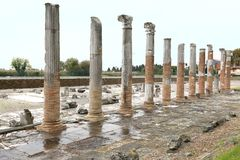 Área arqueológica de Aquileia Fotografía de archivo