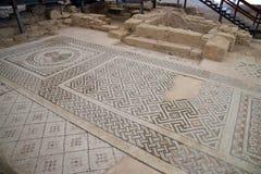 Área arqueológica de Kourion Fotos de archivo libres de regalías