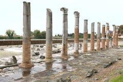 Área arqueológico de Aquileia Fotografia de Stock
