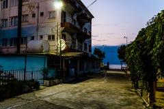 Área assustador Desolated fechado do Funfair - Turquia Fotografia de Stock Royalty Free