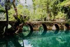 Área cênico do xiaoqikong de Guizhou Libo Fotografia de Stock Royalty Free