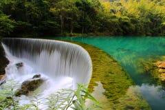 Área cênico do xiaoqikong de Guizhou Libo Imagens de Stock Royalty Free