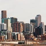 Área central de Denver Colorado fotografia de stock royalty free