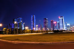 A área central de Shenzhen Imagens de Stock