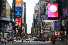 Área cerca del Times Square Fotos de archivo libres de regalías