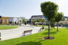 Área comercial Imagen de archivo libre de regalías