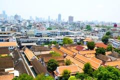 Área da arquitetura da cidade em Banguecoque de Tailândia 0127 Fotos de Stock