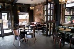 Área da barra do clube nocturno Imagens de Stock Royalty Free