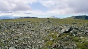Área da cimeira na coluna, distrito do lago fotografia de stock