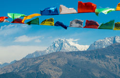 Área da conservação de Annapurna, Nepal foto de stock royalty free