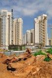 Área da construção. Imagens de Stock