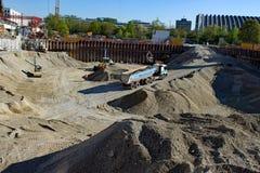 Área da construção Foto de Stock