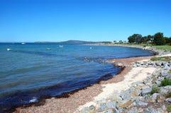 Área da costa Fotografia de Stock