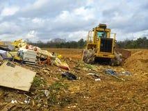 Área da descarga de lixo Imagem de Stock