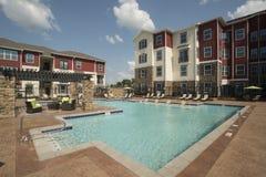 Área da piscina de gama alta Imagens de Stock Royalty Free